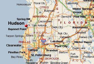 hudson florida map hudson weather related to real estate listings of homes