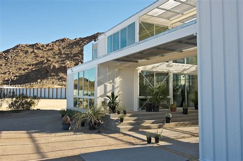 West 10 Apartments Floor Plans by Jetson Green First Container House In Mojave Desert