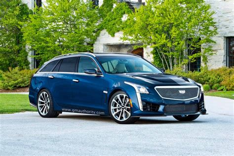 2017 cadillac cts v sport wagon rendered gm authority