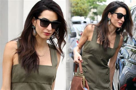 amal alamuddin hair extensions george clooney s corvette shows he s still living life in