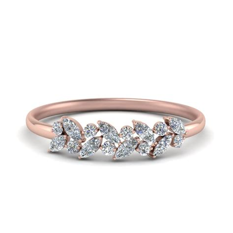 Promise Rings For by Marquise Promise Ring Band In 14k Gold