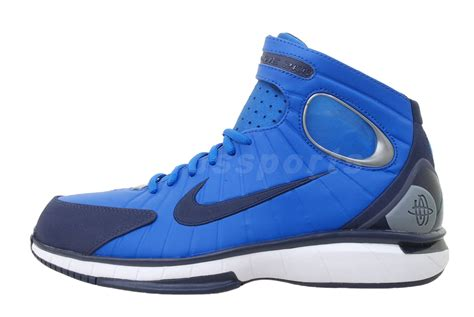nike huarache 2k4 basketball shoes for sale nike air zoom huarache 2k4 royal blue mens