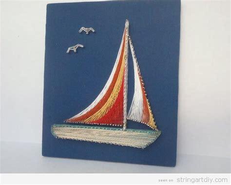 string art pattern boat string art diy ideas tutorials free patterns and