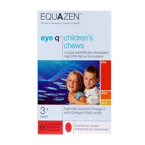 eye q supplement eye q omega 3 chew supplement eye q in 60capsules from equazen