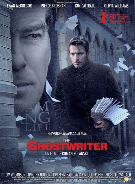 the ghost writer the cinematheque 2010 reviews the ghost writer