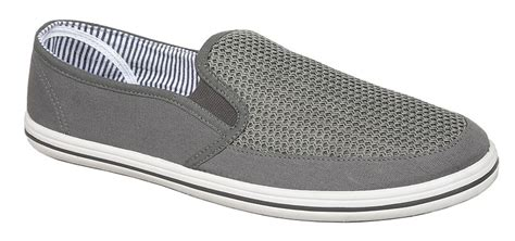 mens summer canvas shoes gusset casual yachting