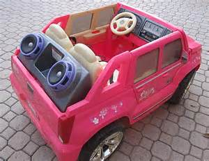 Power Wheel Cadillac Escalade Pink Power Wheels Electric Car Pink Cadillac Escalade