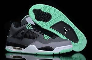 2014 nike air jordan 4 iv retro new release shoes grey green nike air