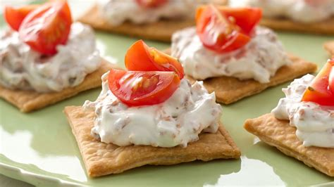 easy appetizers easy bacon tomato appetizers recipe from pillsbury com