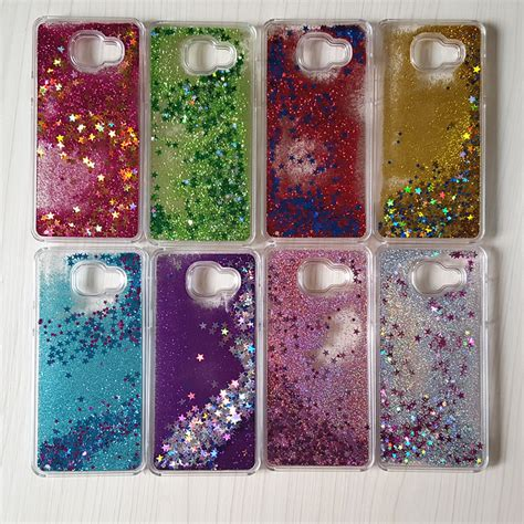 Fashion Water Gliter For Samsung Galaxy J7 dynamic liquid glitter water cover for samsung galaxy 2016 on5 j5prime on7 j7prime