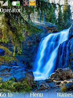 mobile themes of nature download water fall nature theme nokia theme mobile toones