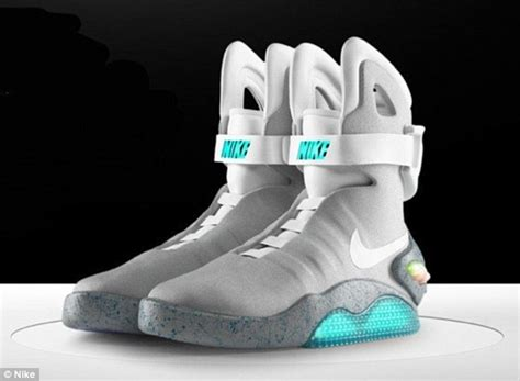 back to the future s michael j fox models nike s self