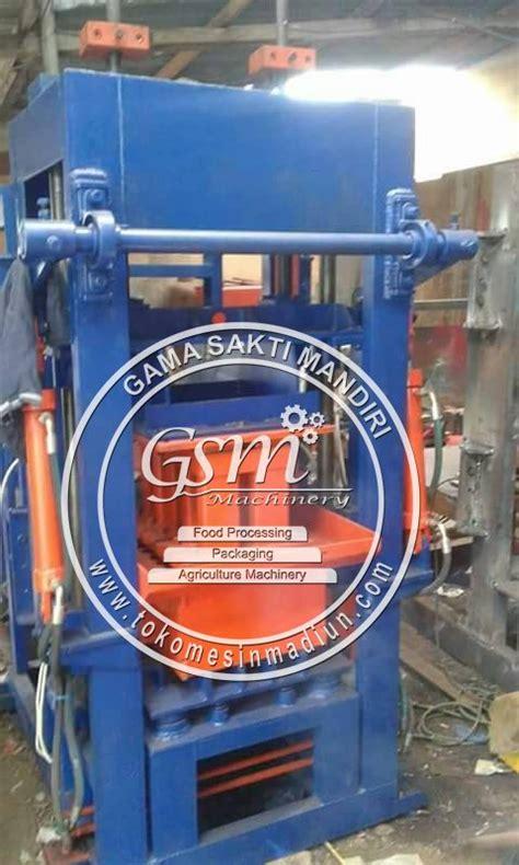mesin cetak batako paving hidrolik toko alat mesin usaha