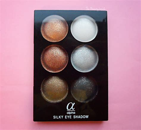 Eye Shadow Silky Alpha Silky Eye Shadow Palette Review And Swatches
