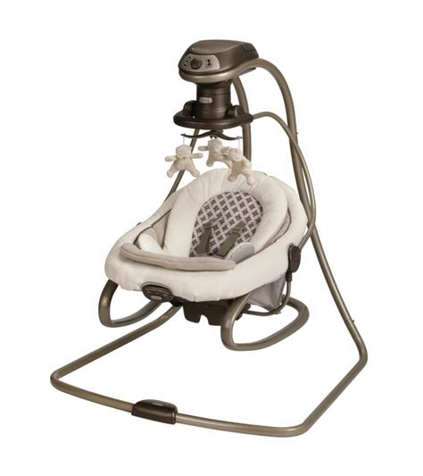 swing rocker graco duetsoothe swing rocker antiquity