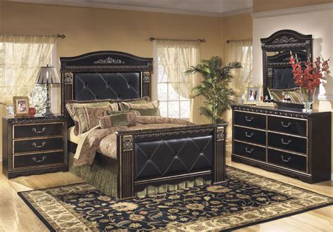 coal creek bedroom set coal creek mansion bedroom set from ashley b175