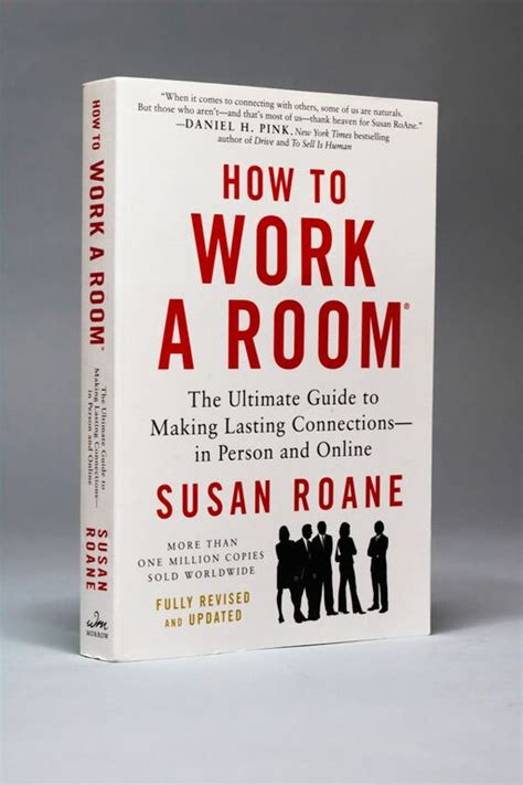 how to work a room how to work a room book by susan roane networking socializing