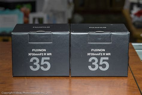 Fujinon Xf23mm F 2 0r Wr beau photo supplies blogs new fujinon xf 35mm f 2 0r