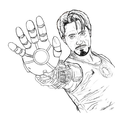 tony stark by ahunterinsilence on deviantart