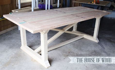 build dining table 7 diy farmhouse tables with free plans