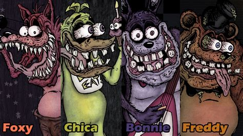 Five nights at freddy ed roth style wallpaper by sestrennk on
