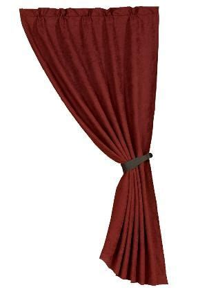 red leather curtains red faux leather curtain panel western cer