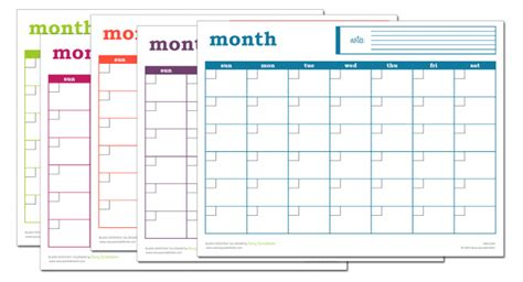 excel monthly calendar template blank monthly calendar excel template savvy spreadsheets