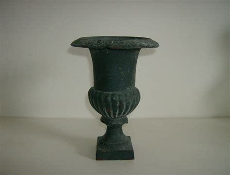 Iron Urn Planter by Vintage Cast Iron Urn Planter From Marysmenagerie On Ruby