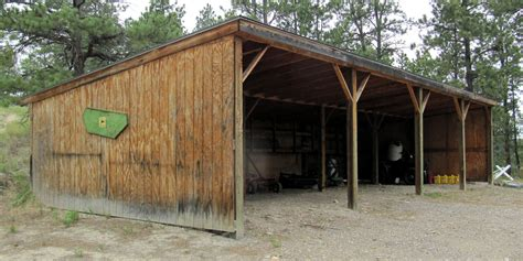 Build A Cheap Shed by Tifany Today How To Build Equipment Shed
