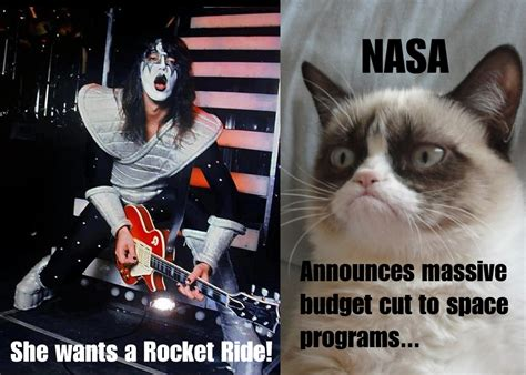 Roll Cat Ace Oldfield grumpy cat meets ace frehley grumpy cat your