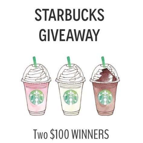 Starbucks Giveaway Instagram - starbucks giveaway verbal gold blog