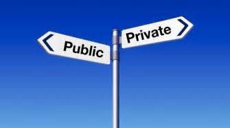what is the difference between a public college and a