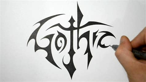 tattoo fonts yash how to write in a cool tribal style