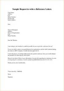 Letter How To Write 4 How To Write A Reference A Cover Letters
