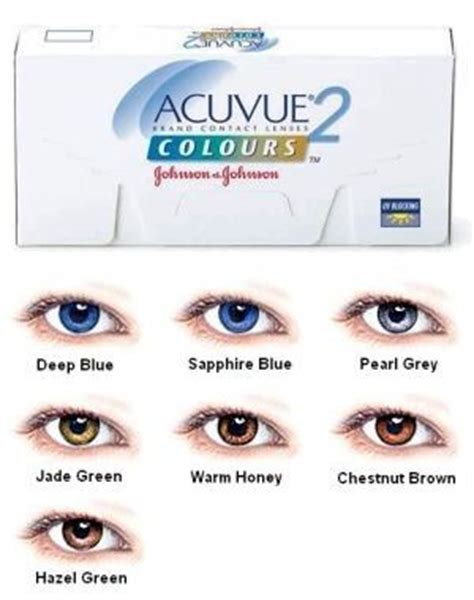acuvue contacts color coloured contact lenses as a fashion statement