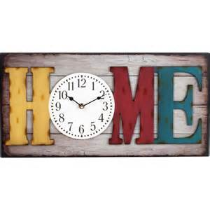 better homes and gardens 20 quot big rectangle home wall clock walmart