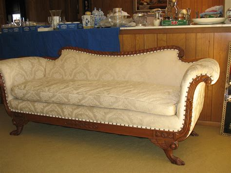 antique duncan phyfe sofa i have what looks like an antique duncan phyfe sofa how can