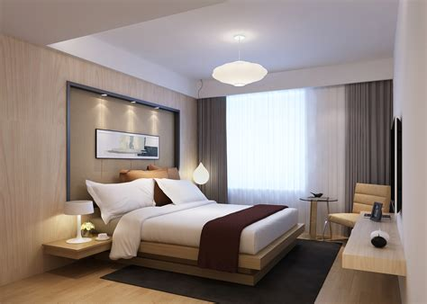 Modern Bedroom 3d Model Max Cgtrader Com Bedroom Design 3d