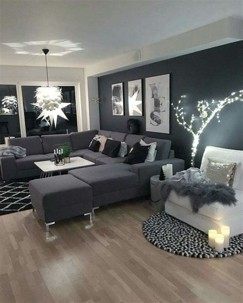 black and gray living room decorating ideas org on fancy