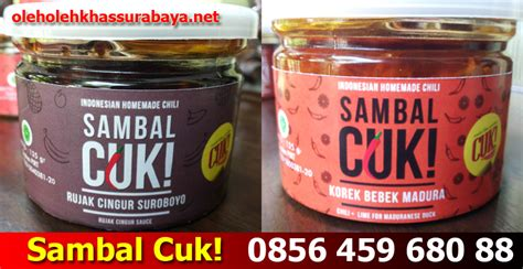 Sambal Cuk by Sambal Cuk Surabaya Oleh Oleh Khas Surabayaoleh Oleh