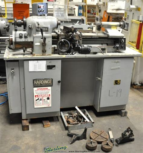 tool room lathe 11 quot x 18 quot used hardinge tool room lathe mdl hlvh sterling machinery sterling machinery