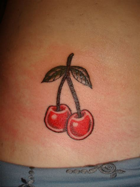 cherries tattoo designs my designs cherry tattoos