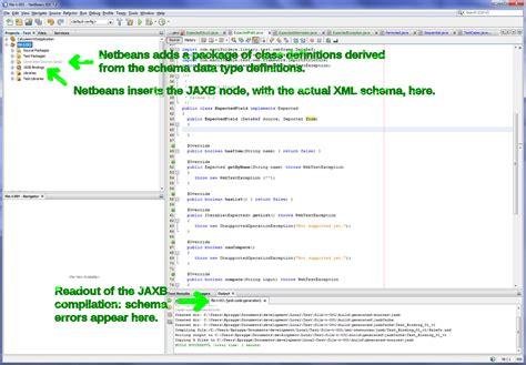 Jaxb Tutorial Reading Xml File | using jaxb with netbeans the hello world exle