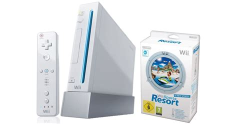 wii console sports nintendo wii console sports resort pack white