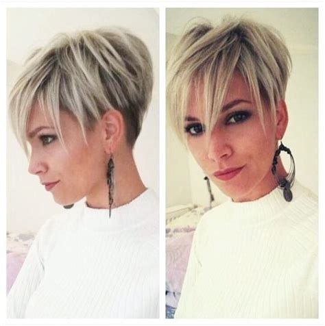 how to style a pixie to a fringe cut long fringe pixie cut short hair pinterest long
