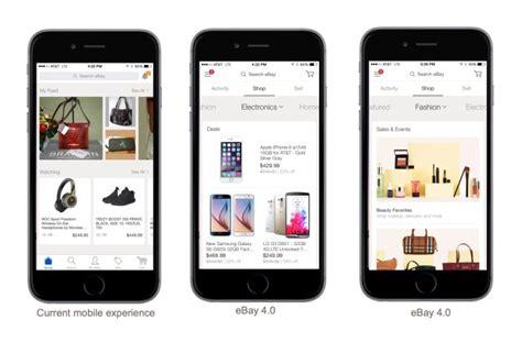 ebay motors mobile ebay updates its mobile apps to ebay 4 0 fashion motor