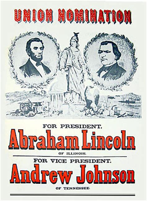 lincoln re election abraham lincoln reelection poster