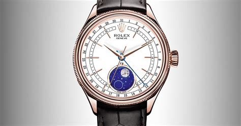 Rolex Cellini Merah 001 Chrono Detik rolex cellini moonphase time and watches the