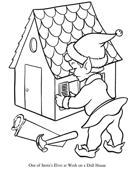 elves workshop coloring pages elves coloring pages elves workshop coloring pages kids