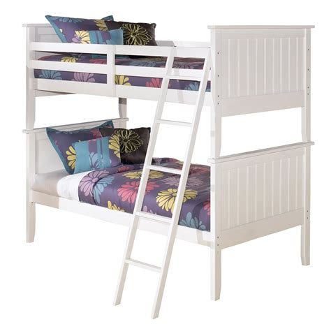 ashley beds signature design by ashley lulu bunk bed atg stores